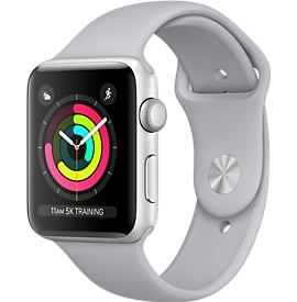 Apple Watch Series 3 (42mm) Aluminio en Gris Espacial y Correa Deportiva Gris – MR362
