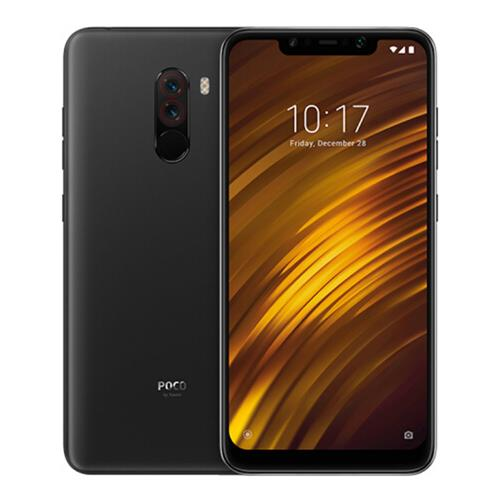 [HK Stock][Official Global Version]Xiaomi Pocophone F1 6.18 Inch 4G LTE Smartphone Snapdragon 845 6GB 64GB 12.0MP+5.0MP Dual Rear Cameras MIUI IR Face Unlock Type-C Fast Charge – Graphite Black