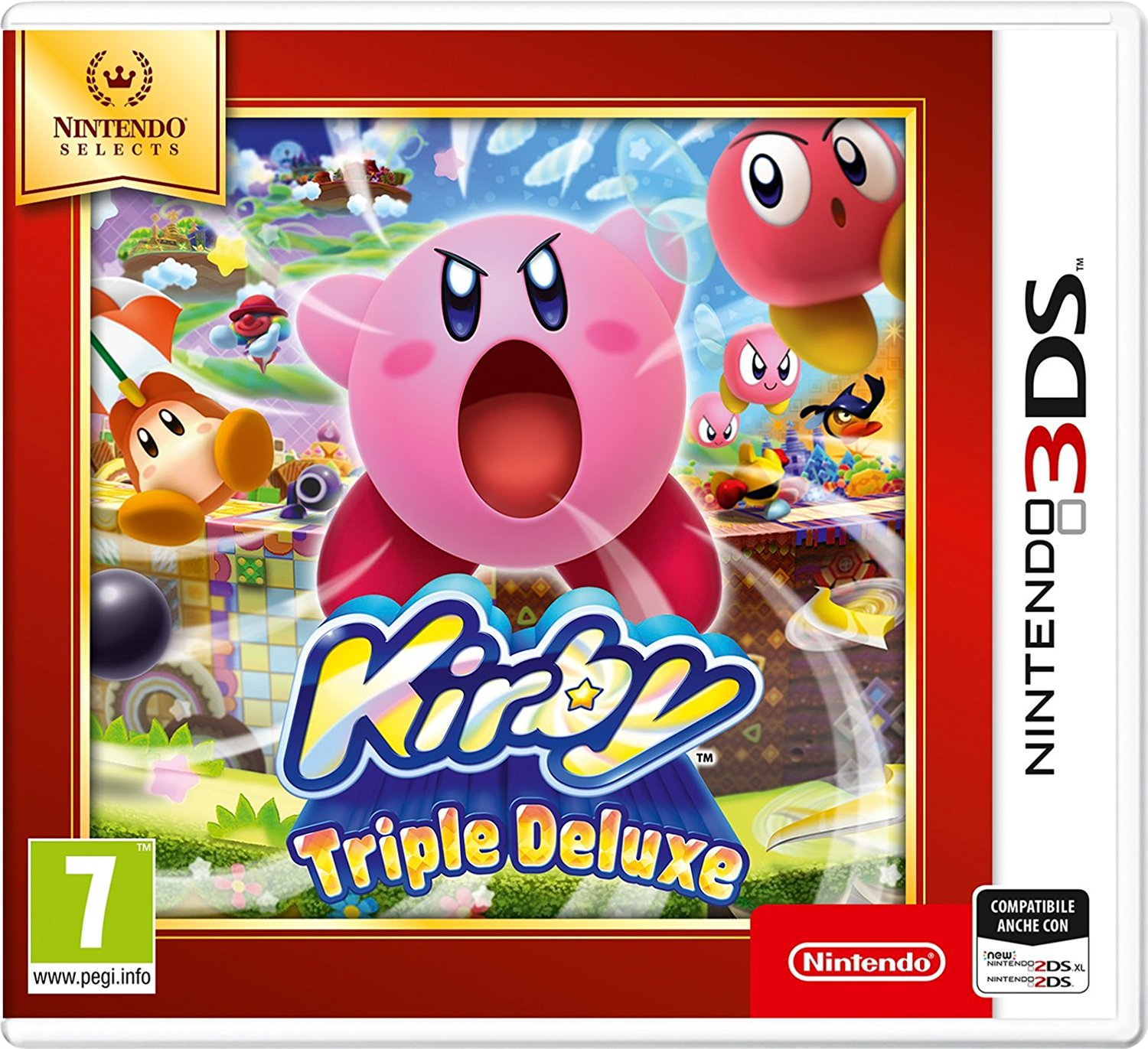 Kirby: Triple Deluxe 3DS/2DS