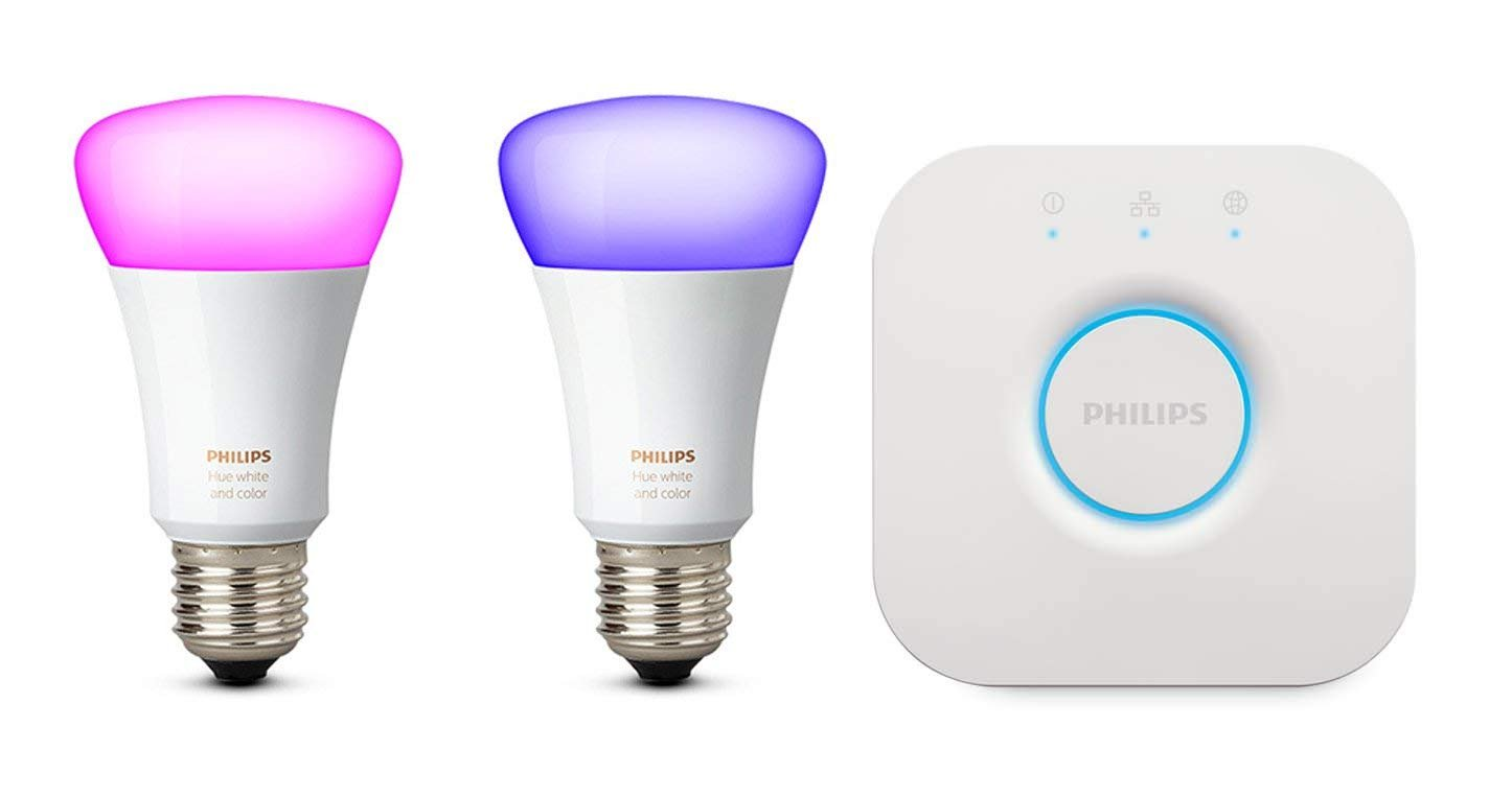Kit de 2 bombillas inteligentes Philips