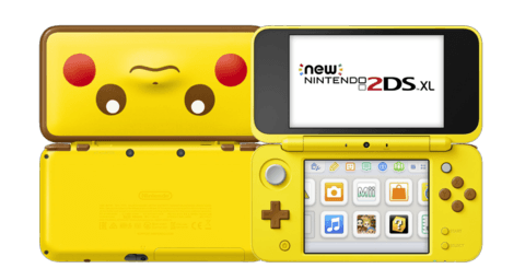 Consola New 2DS XL Edición Pikachu