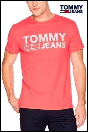 Tommy Jeans , Camiseta sin Mangas para Hombre – Talla L