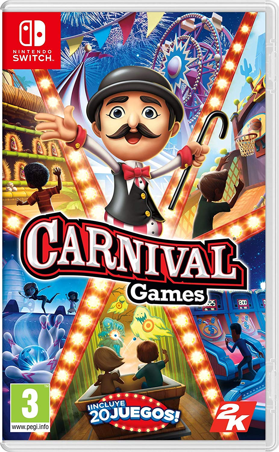 Carnival Games para Switch (Físico)