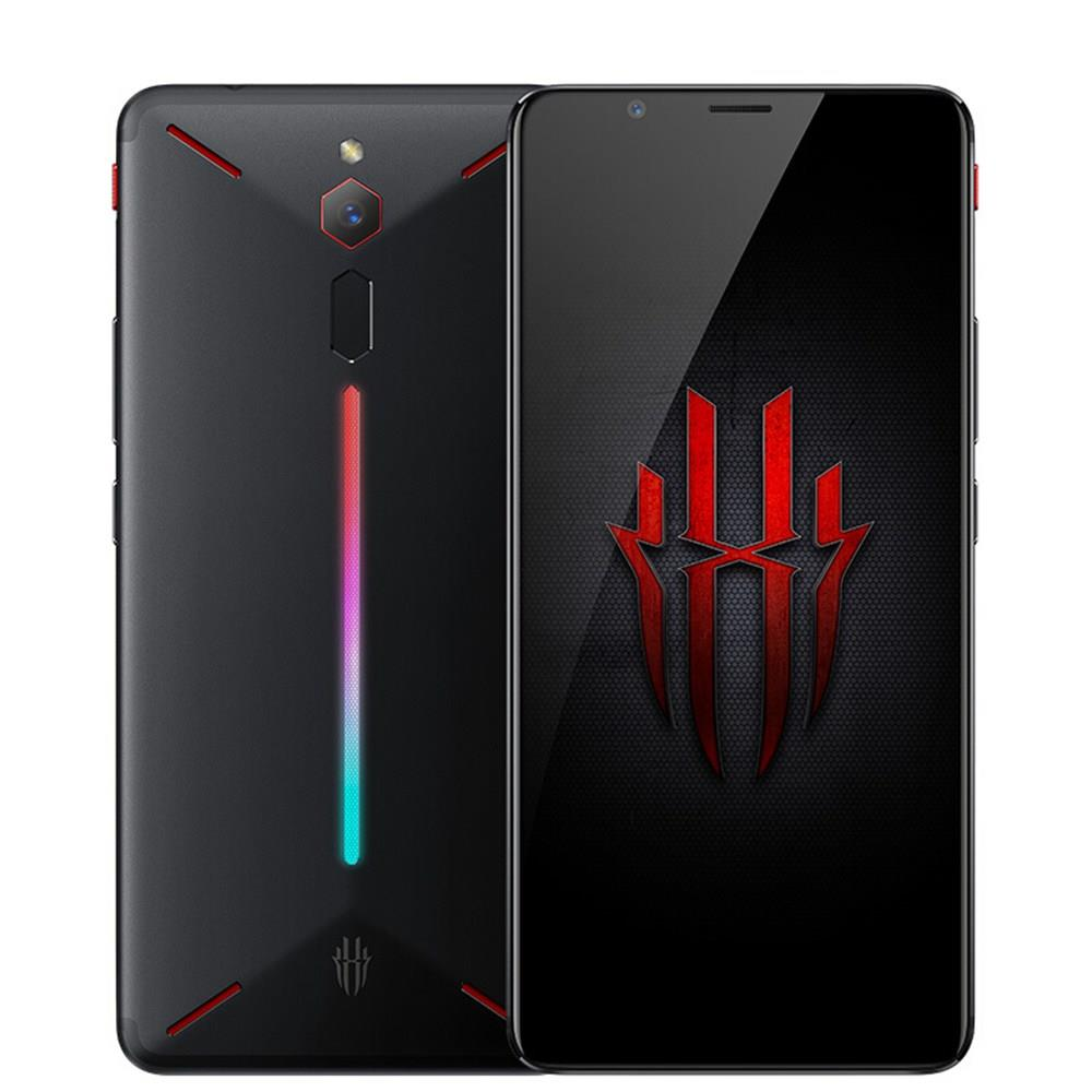 Nubia Red Magic 6.0 Inch FHD+ Screen 4G LTE Gaming Smartphone 8GB 128GB 24.0MP Snapdragon 835 Android 8.1 Type-C Touch ID OTG – Black