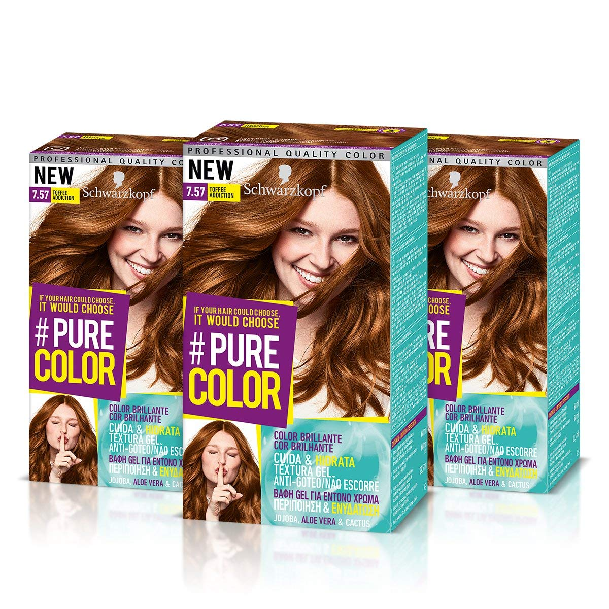 Pack de 3 Tintes Pure Color de Schwarzkopf