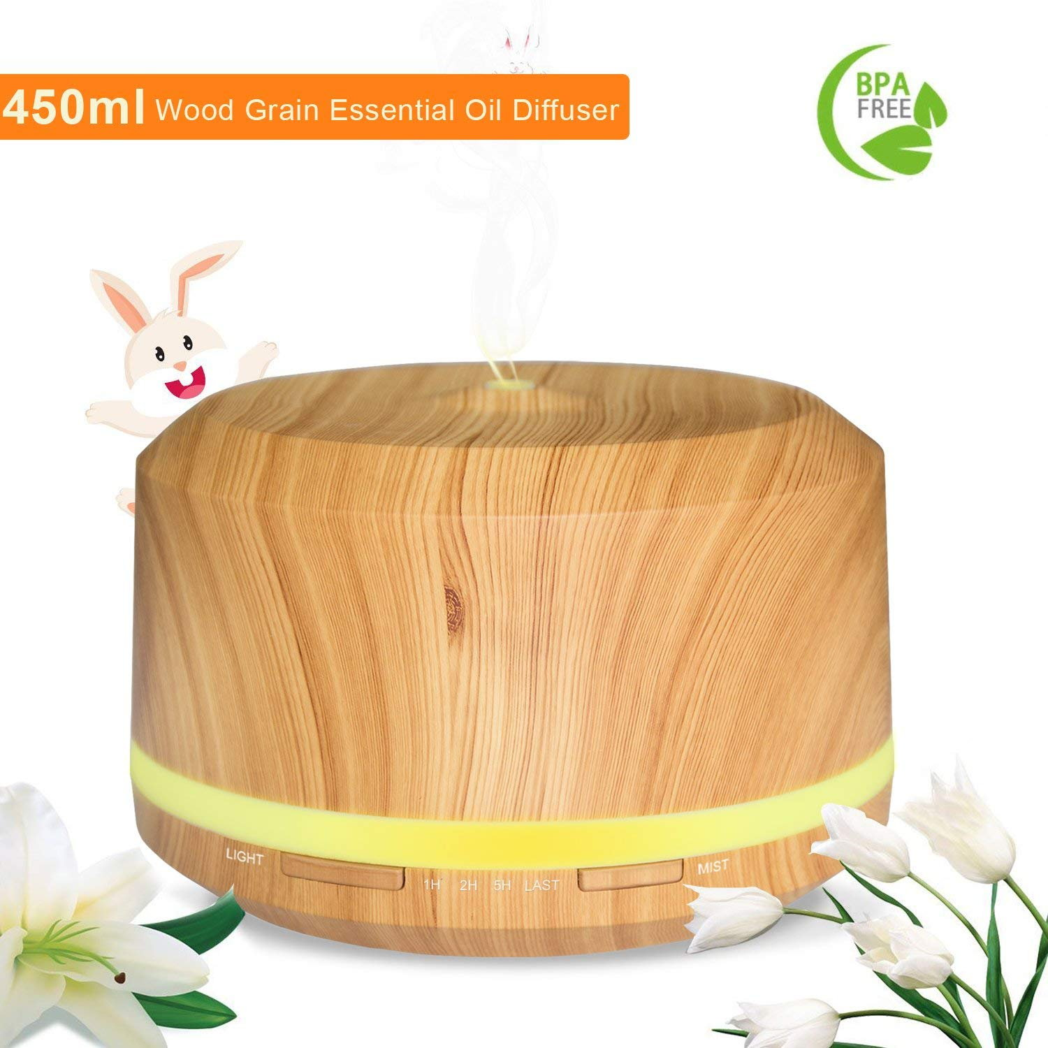 Humidificador 450ml solo 10,9€
