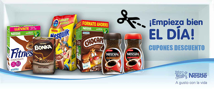 cupones nestle productos nestle