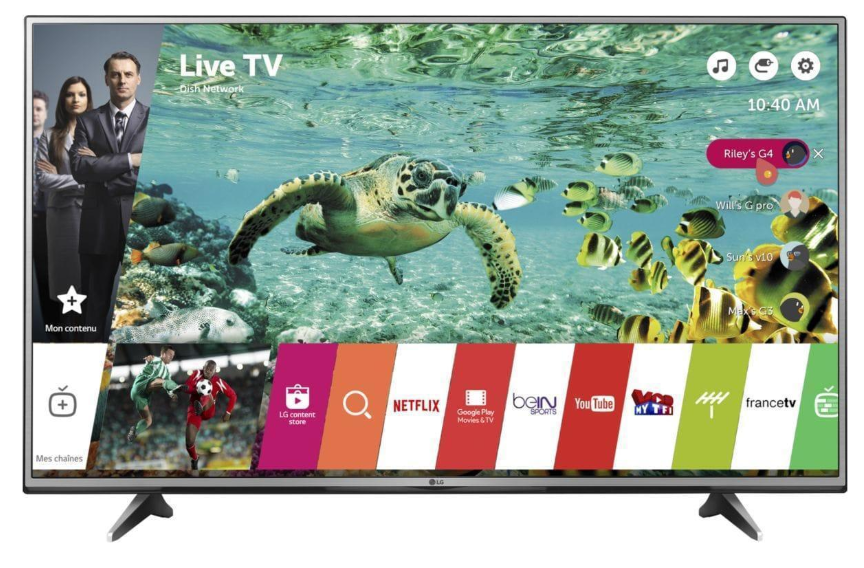 Smart TV WiFi LED 4K