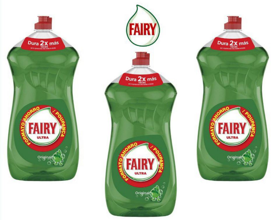 3 Fairy ultra 4230 ml en oferta