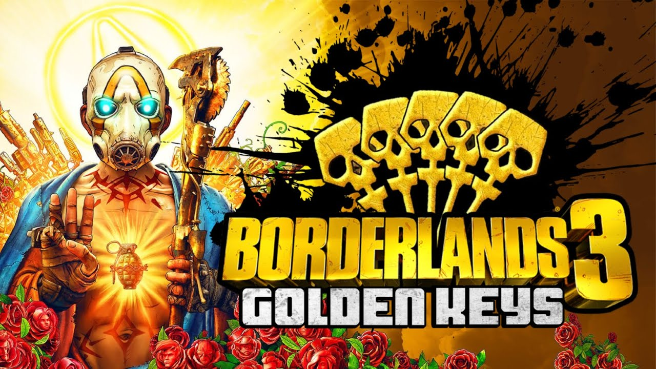 3 Llaves de oro para Borderlands 3