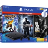 Pack PS4 500GB + Ratchet&Clank, The Last Of Us y Uncharted 4 solo 199€