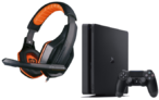 PS4 Slim 500GB + Auriculares Gaming solo 199€