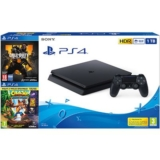 Consola PS4 1TB + COD Black OPS 4 + Crash Bandicoot N. Sane Trilogy solo 269,9€