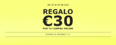 Regalo 30€ en IKEA en compra on-líne de 200€