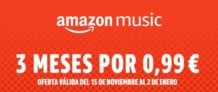3 meses Amazon Music Unlimited solo 0,9€