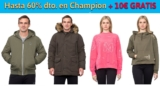 Hasta 60% en Champion + 10€ GRATIS Showroomprive