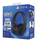 Cascos para PS4 Gold Edition + Fortnite digital solo 66,9€