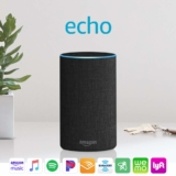 Echo (2nd Generation) – Smart speaker with Alexa – Charcoal Fabric