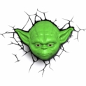 Lámpara decorativa 3D Yoda Star Wars