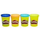 Pack 4 botes Playdoh de colores surtidos solo 2,75€
