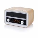 Radio retro bluetooth USB y alarma solo 35€