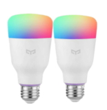 Pack 2 bombillas Yeelight RGB solo 18,85€