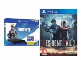 PS4 Slim + Fortnite + Resident Evil 2 solo 242,1€
