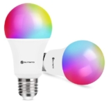 Pack de 2 bombillas LED RGB de 9W solo 16,7€