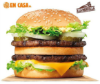 Big King con tu menú a domicilio GRATIS