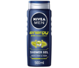 Pack de 6 Gel de Ducha Nivea Men Energy de 500Ml solo 12€