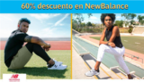 Hasta 60% en productos NewBalance