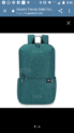Xiaomi backpack trendy solid color