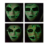 Máscara de Halloween luminosa solo 1,6€
