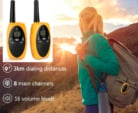 Walkie-talkies 8 Canales UHF