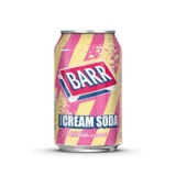 Pack de 24 Latas Barrs Cream (24 x 330 ml)