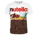 Camiseta chocolateada