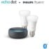 Echo Dot  + Pack Philips Hue White de 2 bombillas LED inteligentes, solo 36,9€