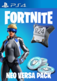 Pack Fortnite Neo Versa + 500 pavos para PS4 solo 10€