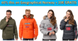 Hasta 60% de dto en Geographical Norway + 10€ GRATIS Showroomprive