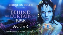 Show del Cirque Du Soleil: Behind the Curtain Toruk Avatar