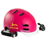 Casco urbano Aurorek Smart Pink con LED