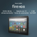 "Tablet Fire 8 HD con pantalla de 8"" HD y 32GB"