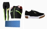 Pack Puma Cali Exotic, mallas Chase, crop top Chase y colchoneta