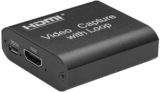 Capturadora HDMI a USB Docooler