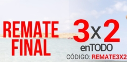 Remate Final: 3X2 en TODO en Magic Outlet