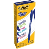 BIC Gel- 12 Bolígrafos de Gel Borrables