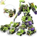 Robot transformable 709 piezas