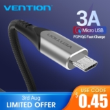 Cable USB a microUSB