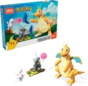Mega Construx Pokemon Figuras Dragonite vs. Togetic Challenge