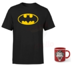 Camiseta + Taza Batman